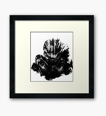 Master Chief Fragmented Framed Print