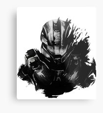 Master Chief Fragmented Metal Print