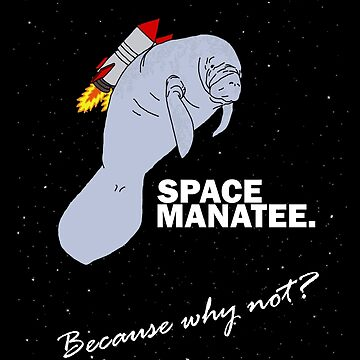 Space Manatee by WillJackSleep
