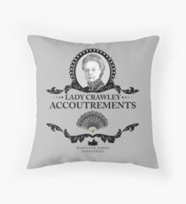 Lady Crawley - Downton Abbey Industries Throw Pillow