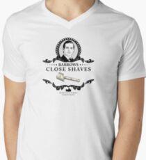 Barrows Close Shave - Downton Abbey Industries Men's V-Neck T-Shirt