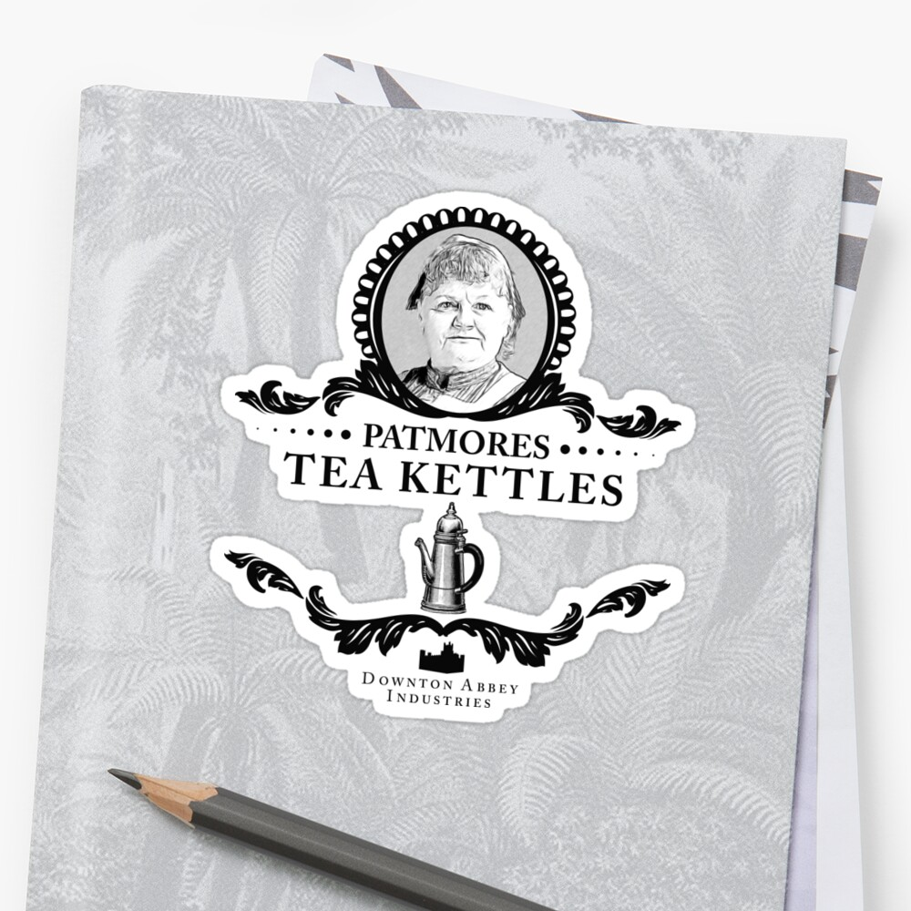 Patmores Tea Kettles - Downton Abbey Industries by Rob Stephens