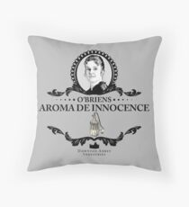 O'Briens Aroma - Downton Abbey Industries Throw Pillow