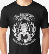 Lady Luck Tattoo Parlour Unisex T-Shirt