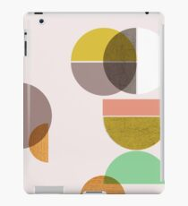 Still Life with circle iPad Case/Skin