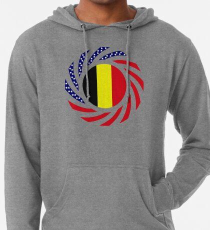 Belgian American Multinational Patriot Flag Series Lightweight Hoodie
