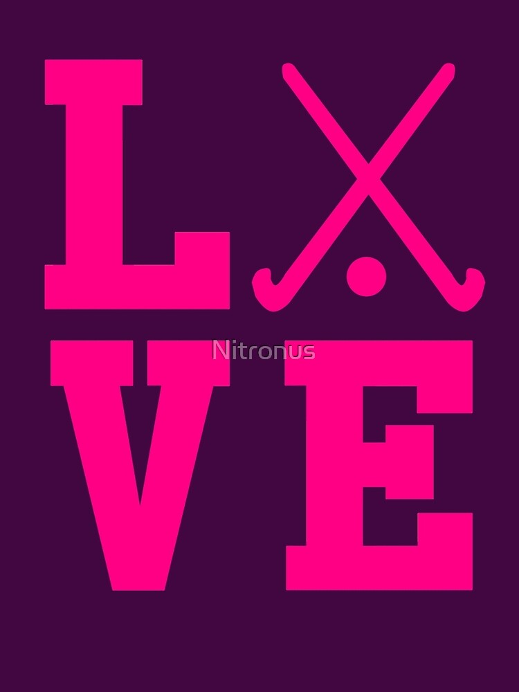 Love Field Hockey de Nitronus