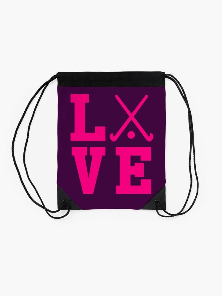 Vista alternativa de Mochila saco Love Field Hockey