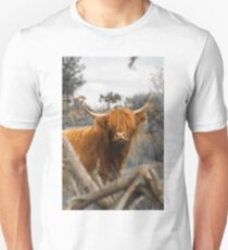 Scottish Highland Cow Unisex T-Shirt