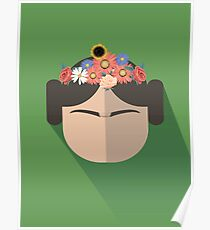 Princess Leia Kahlo Poster