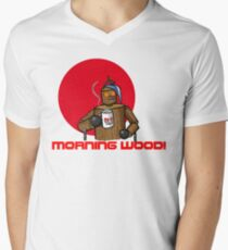 Good Morning Wood!!! Men's V-Neck T-Shirt