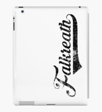 Skyrim Falkreath Distressed Sports Lettering iPad Case/Skin
