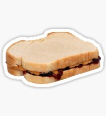 Peanut Butter n Jelly! Sticker