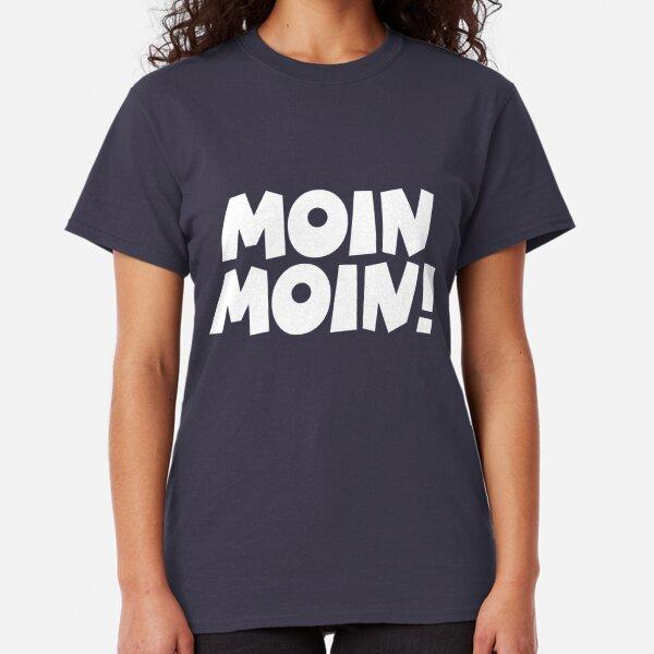 Hamburg Norddeutschland Geschenk Kult Bremen HH Sprüche Girlie Shirt MOIN