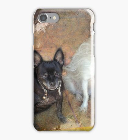 Two Old Ladies iPhone Case/Skin