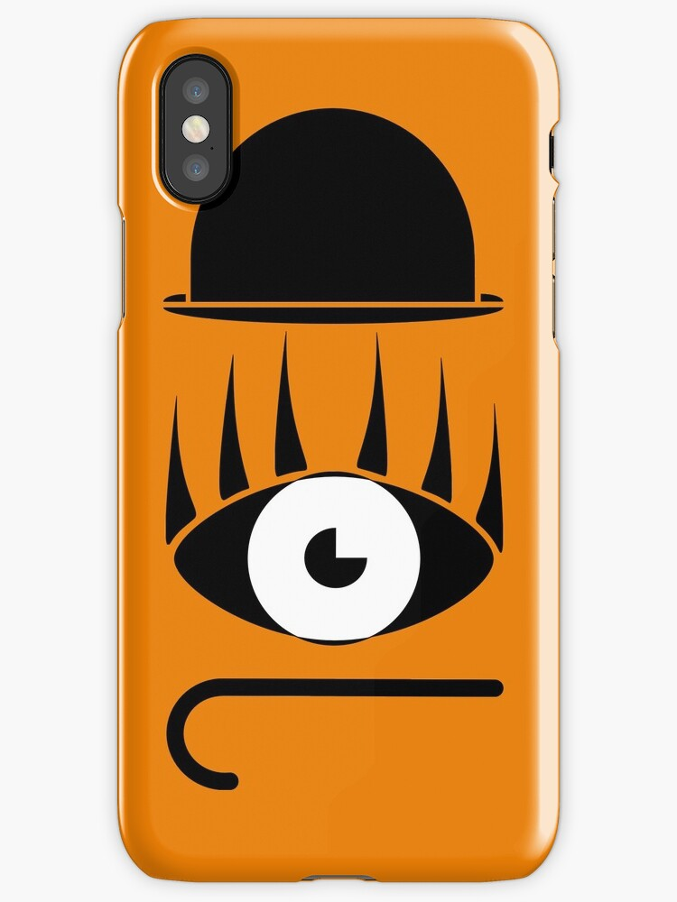 Clockwork Orange Symbols Iphone Cases Covers By Enjoyriot Redbubble