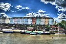 Bristol Dock Houses by Nigel Bangert