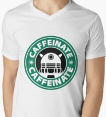 CAFFEINATE!!! Men's V-Neck T-Shirt