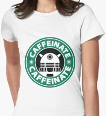 CAFFEINATE!!! Women's Fitted T-Shirt