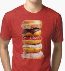 DONUT STACK Tri-blend T-Shirt