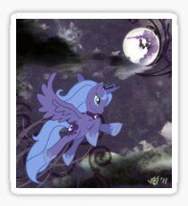 Lonely Luna Sticker