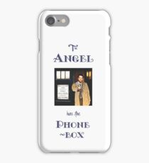 Castiel Has The Phonebox iPhone Case/Skin