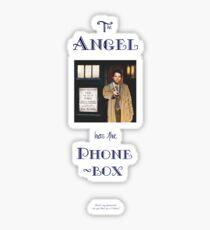 Castiel Has The Phonebox Sticker