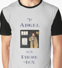 Castiel Has The Phonebox Graphic T-Shirt