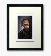 Omar Little - The Wire -  Famous People Framed Print