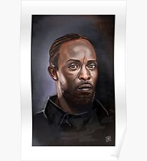Omar Little - The Wire -  Famous People Poster