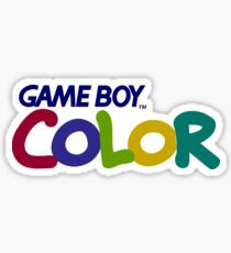 Gameboy Color Logo Sticker
