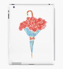 Umbrella full of flowers iPad Case/Skin