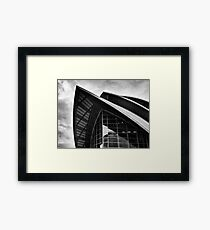 The Glasgow Armadillo Framed Print