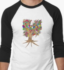 Birds of a feather stick together Men's Baseball ¾ T-Shirt