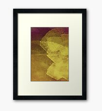 Cool, unique modern abstract painting art design Framed Print