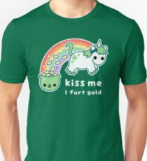 St. Patrick's Day Unicorn Unisex T-Shirt