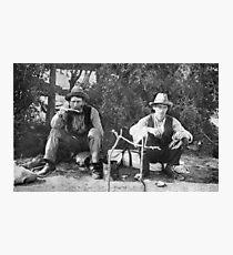 Swaggies, Aternoon Tea Photographic Print