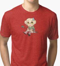 Leonuki - Chibi Mage Tri-blend T-Shirt