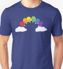 Cute Rainbow Unisex T-Shirt