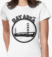 Bay Area  Women's Fitted T-Shirt