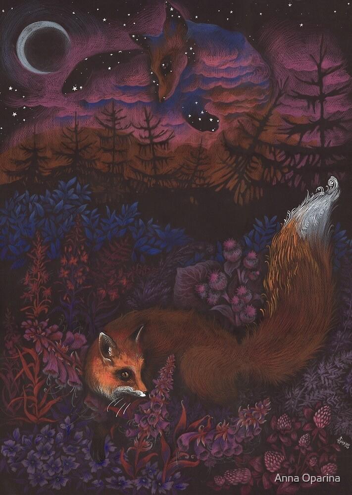 Twilight Fox by Anna Oparina