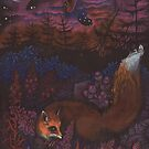 Twilight Fox by Anna Oparina