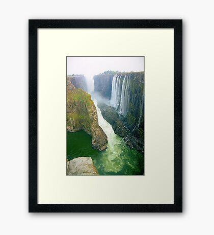 Victoria Falls, Zambia  Framed Print
