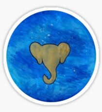 Elephant Planet Sticker