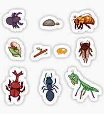 Bug stickers Sticker