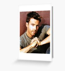 Ben Affleck Greeting Card