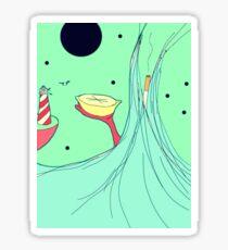 Lemon Voyage Sticker