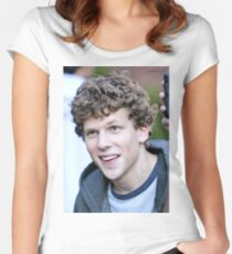 Jesse Eisenberg Women's Fitted Scoop T-Shirt