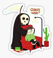 guess who ? Sticker