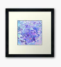 Lilac zinc Framed Print